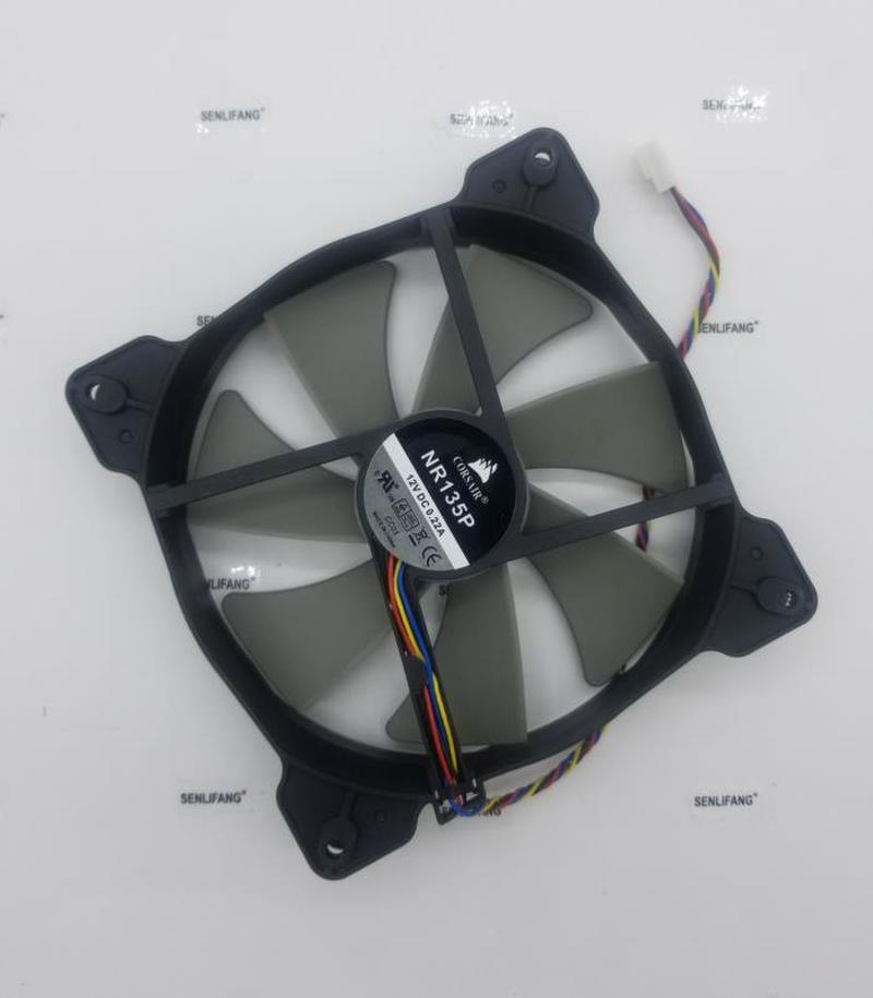 cooling <font><b>fan</b></font> for COOLING REVOLUTION 14cm NR135P 135mm <font><b>140mm</b></font> 120mm 14025 13525 <font><b>12V</b></font> 0.22A 4-wire 4pin quiet HX750 power image
