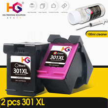 Remanufaturado para cartucho de toner hp 301 xl 301xl cartuchos de tinta para hp envy 5530 deskjet 2050 2540 2510 1000 1050 impressora