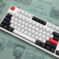 Thème de l'aube à cinq faces PBT Sublimation Keycap bricolage personnalité clavier mécanique dédié hauteur d'usine d'origine
