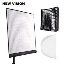 Falcon eyes RX 24TDX pano laminável quadrado led luz preenchimento painel de iluminação de estúdio de vídeo 150w bicolor 3000k 5600k softbox