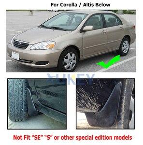 Image 3 - Para Toyota Corolla E120 E130 2002 2008 guardabarros 2003 2004 2005 2006 2007