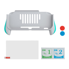 Plastic Fit Controller Grip Gamepad Handle Stand Holder Game Electronics Exterior Decoration Parts for Nintendo Switch Lite