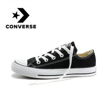 Converse-zapatillas de Skateboarding para parejas ALL STAR, originales, auténticas, clásicas, blancas y...