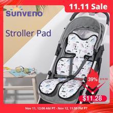 Sunveno аксессуары для детской коляски Удобная крутая подкладка для детской коляски универсальная подушка для сиденья детская подушка для детской коляски
