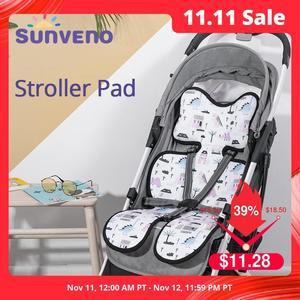 Image 1 - Sunveno аксессуары для детской коляски Удобная крутая подкладка для детской коляски универсальная подушка для сиденья детская подушка для детской коляски