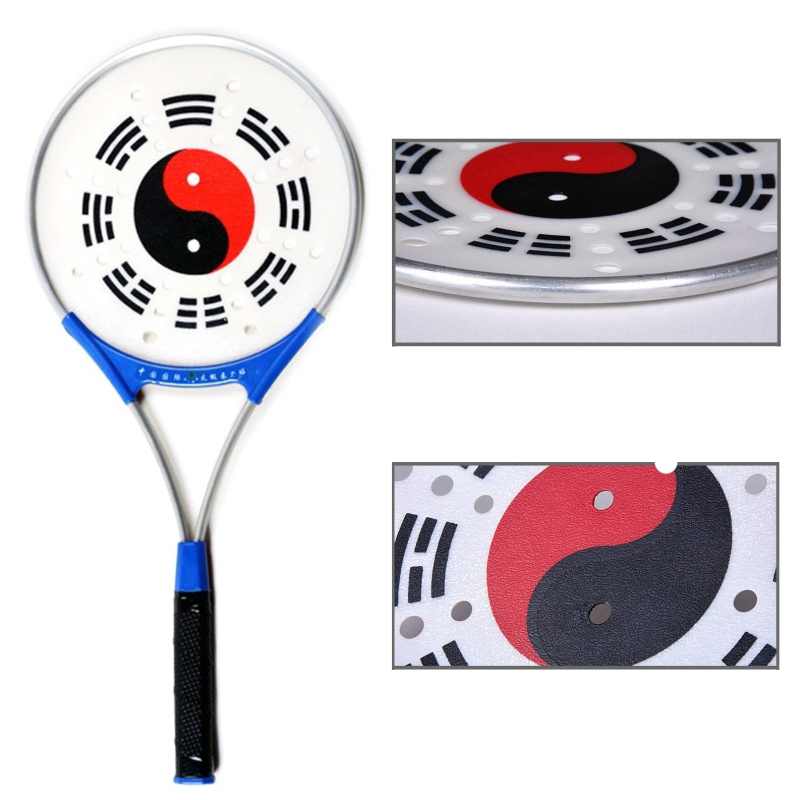 Martial Arts Tai Chi Rouli Ball And Racket For Soft Body Power Strength Exercise Indoor Outdoor Easy To Use For  Tai Chi