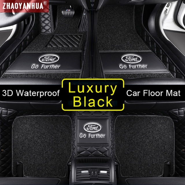 Tapis de sol en cuir 3D étanche | Pour Porsche 911 Cayenne 958 957 955 Boxster Cayman Macan Panamera, accessoires