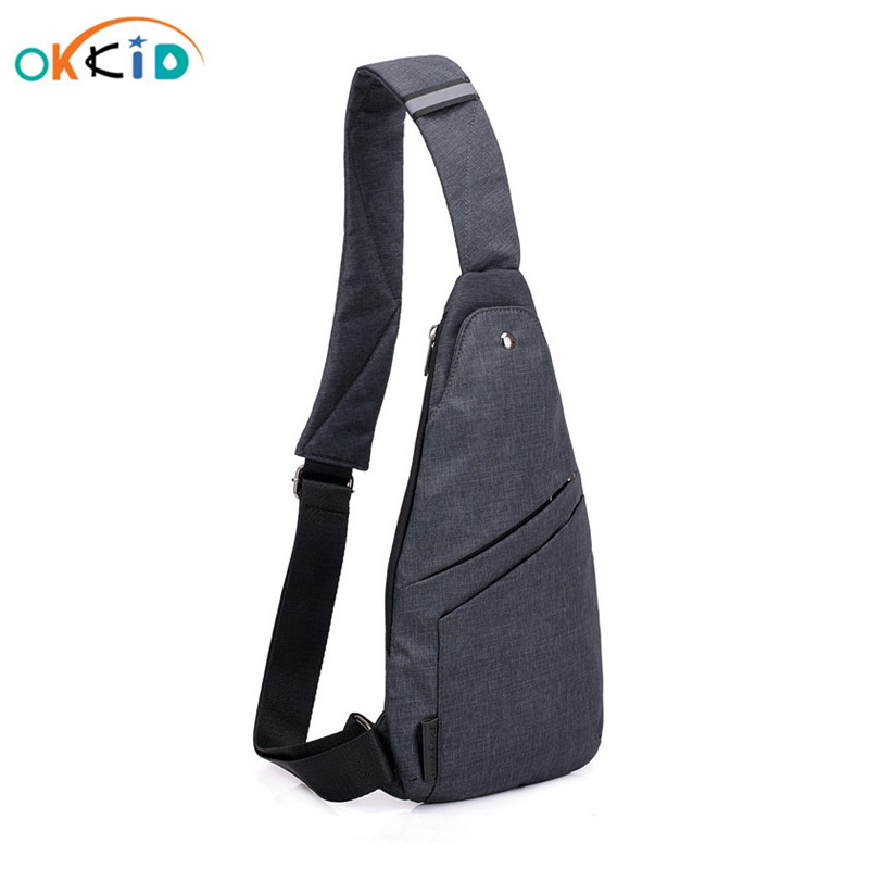 Male Anti-theft Bagpack Men Sling One Shoulder Bag Boy Waterproof Travel Small Chest Bag Slim Mini Crossbody Bag Dropshipping
