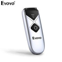 Eyoyo EY-015C 1D Barcode Scanner USB Wired/Bluetooth/ 2.4G Wireless CCD Bar Code Reader for iPad iPhone Android Tablets windows(China)