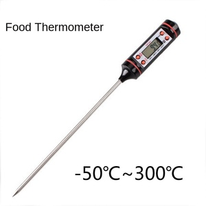 Digital Thermometer with 15cm Long Probe, Candle Making Kits, Measure Liquid Soy Paraffin Wax, Baked Milk Meat BBQ wax melts