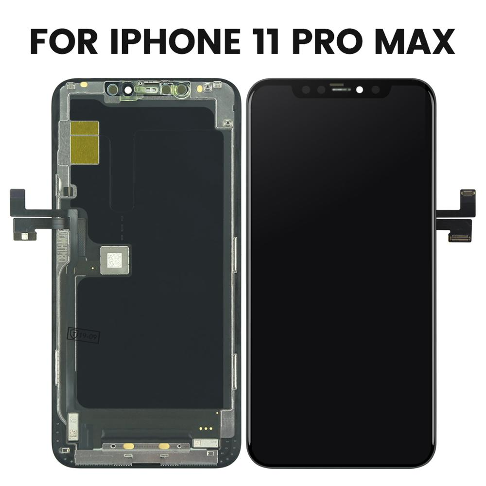 Image 3 - Brand New Original For iPhone 11/Pro/ Pro Max LCD Display With 3D Touch Screen Digitizer Assembly Replacement For iphone 11 Pro-in Mobile Phone LCD Screens from Cellphones & Telecommunications