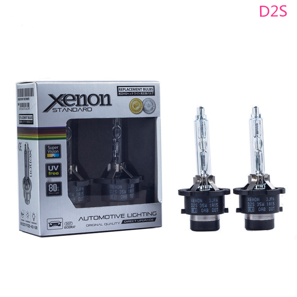 2pcs D2S D2R D4S D4R D2 D4 12V 35W HID Headlight Kit Bulbs For Audi A8 A6 C5 C6 For Volkswagen Vw New Beetle Passat B5