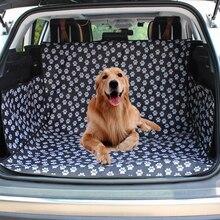 Hond Auto Seat Cover Suv Kofferbak Mat Cover Protector Carrying Voor Katten Honden Transport Reizen Outdoor Poot Patroon