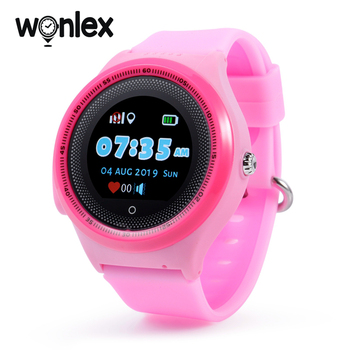 Wonlex KT06 Smart Watches Kids GPS WIFI Phone-Watch Baby SOS Anti-lost Location Tracker Sim-Card Android-System Alarm Clock Gift