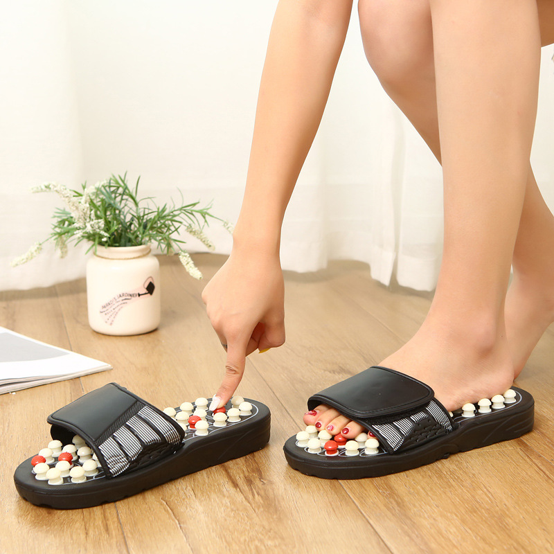Shoes Unisex Massage Slippers Sandal For Men Feet Chinese Acupressure Therapy Medical Rotating Foot Hombre Women Solid 26cm 27G 5