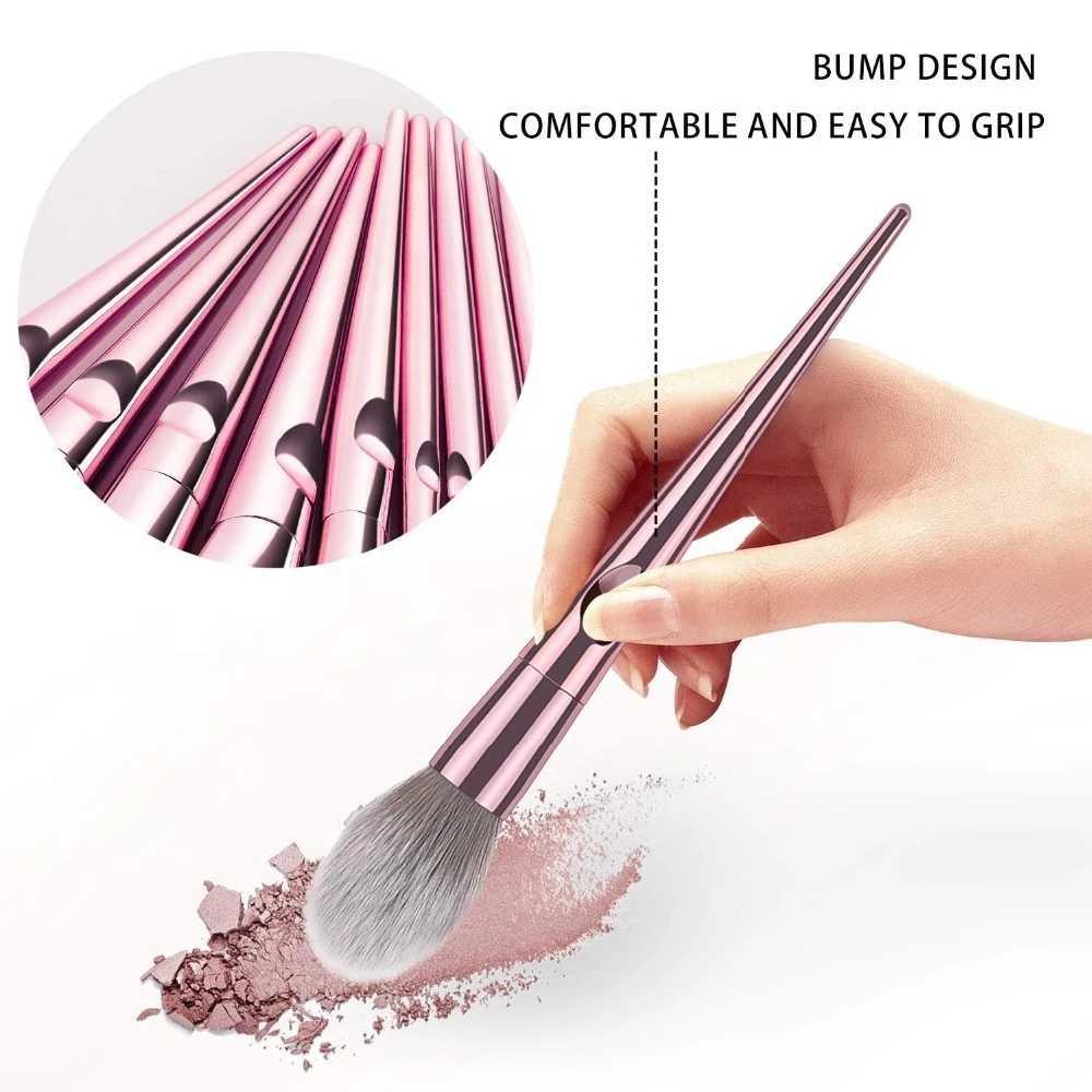 Nowy modny styl luksusowy zawód 10 sztuk zestaw pędzli do makijażu makijaż zestaw przyborów kosmetycznych makijaż zestaw pędzli kosmetyki przybory kosmetyczne