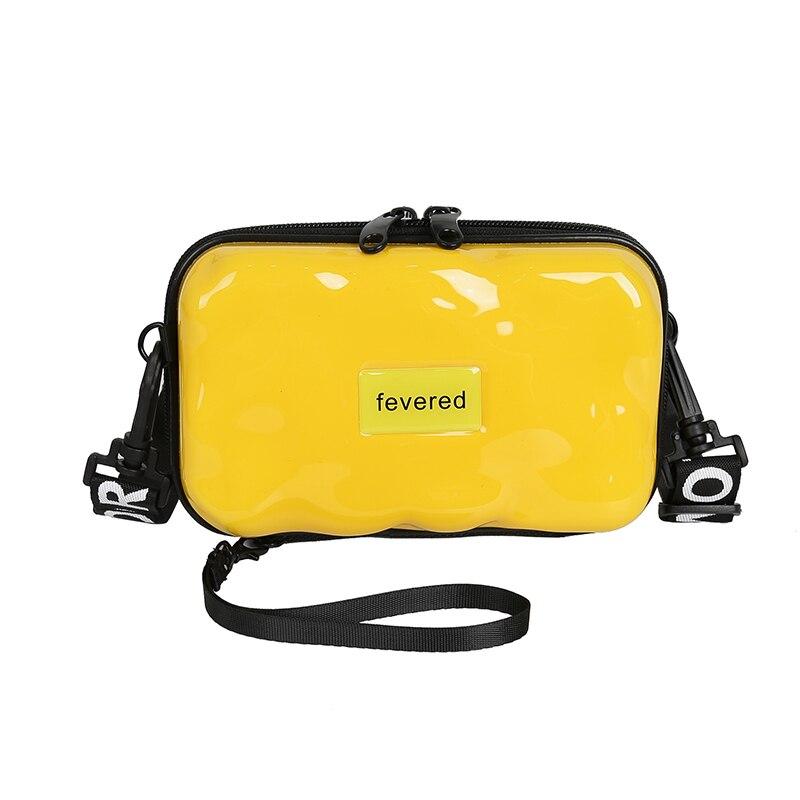 Women Fashion Party Clutch Designer Hard Shell Small Square Box Bag Shoulder Bag Women Suitcase Shape Totes Purses And Handbag