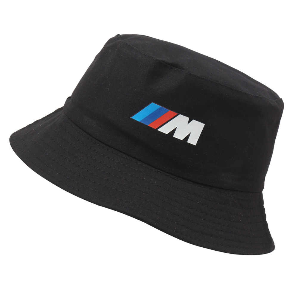 Racing Logo cotton Bucket hat Car Activity embroidered fisherman Election Brand Summer Hat sun visor travel outdoor casual caps