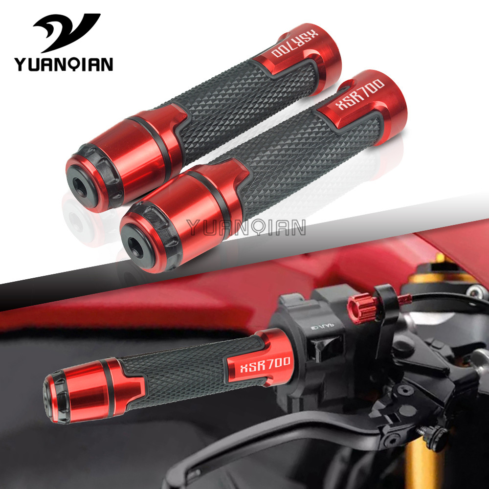 7/8'' 22mm Motorcycle Knobs Anti-Skid Scooter Handle Ends Grips Motorbike Handle Bar End Grips Cap For Yamaha XSR700 XSR 700