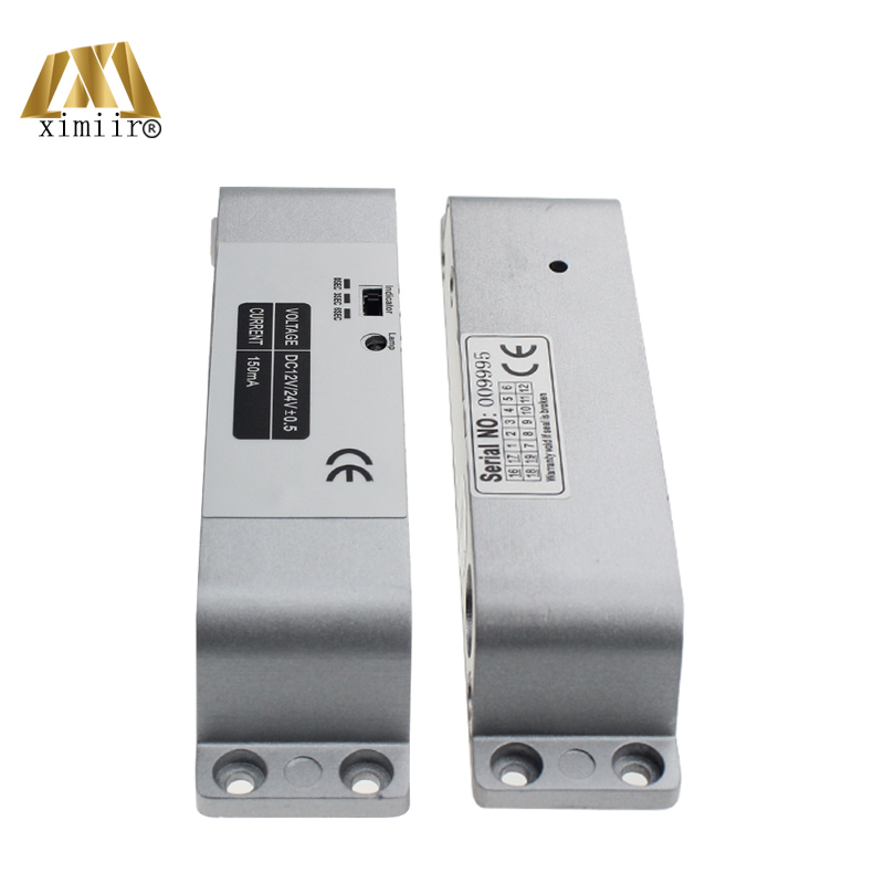 Biometirc NC Lock XM640 Surface Mounting Type DC12V Fail-safe Mode Electric Bolt Lock For Access Control Or Intercom System