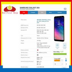 Image 3 - 10 sztuk/partia ekran dotykowy do Samsung Galaxy A6 2018 A600 panel dotykowy przednia zewnętrzna szkło obiektywu A6 + A6 Plus A605 ekran dotykowy LCD szkło