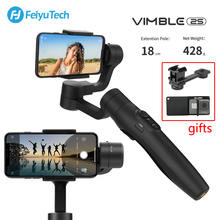 FeiyuTech Vimble 2S for iPhone Samsung Huawei Smartphone Vimble 2 S Gimbal 3-Axis Stabilizer Handheld Gimbal with Extension Pole fy feiyutech a2000 3 axis handheld gimbal