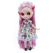Bjd Icy Dolls Fashion Blyth Nude Mini Doll Body Can Be Changed Make Up and Dress 12 Inch Reborn Dolls Baby Toys for Girls Gift13