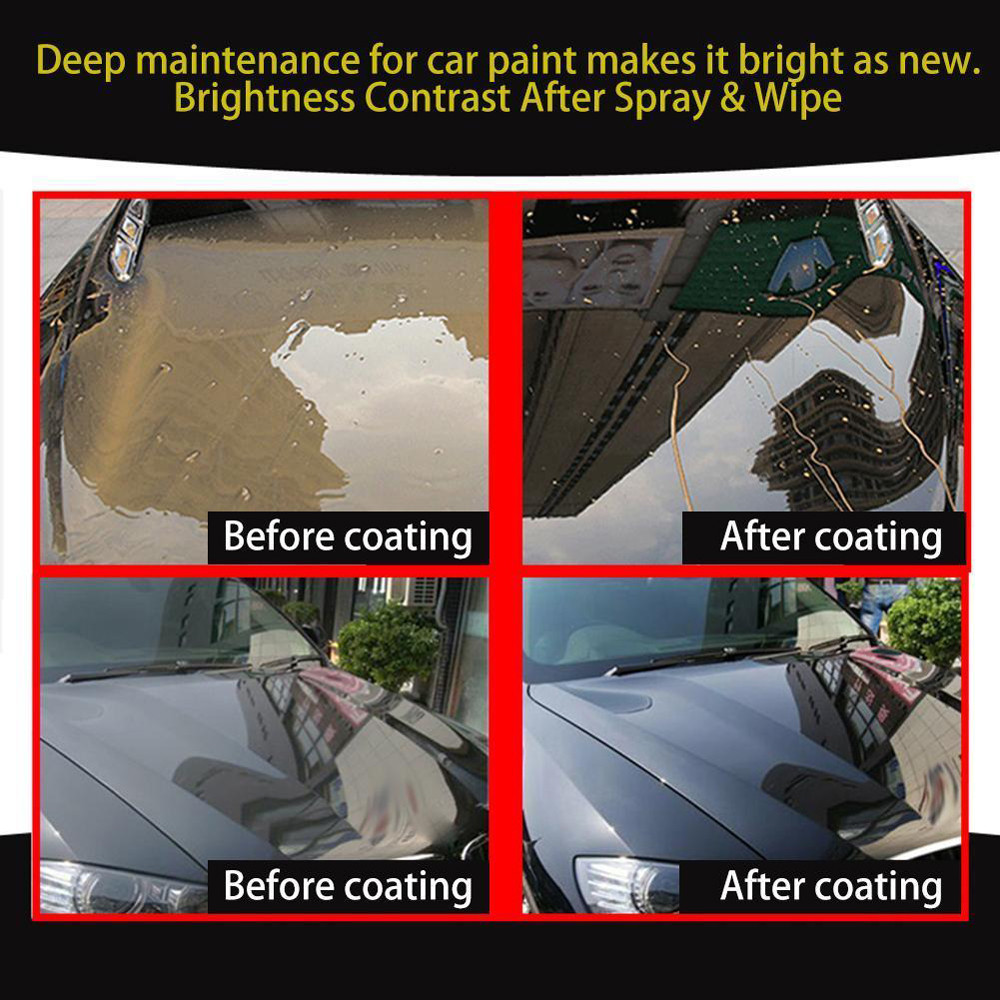 30ML 9H Automotive Oxidation Liquid Ceramic Coating Super Hydrophobic Glass Coating Group Nano Coating Super Hydrophobic
