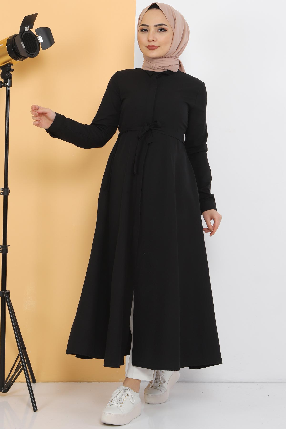 Uzun Tunik TSD2738 Siyah