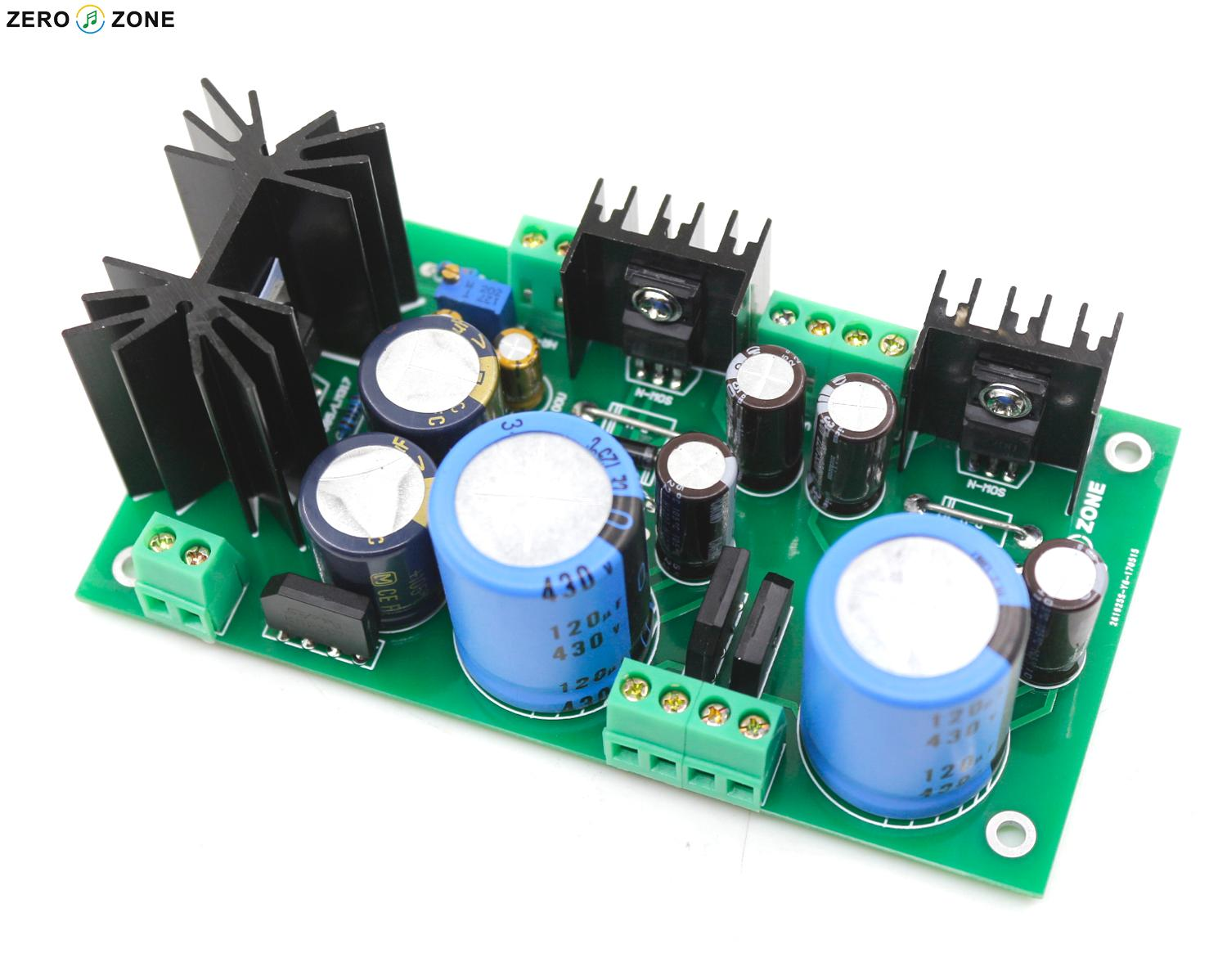 Dual High Voltage Regulator Power Supply Board DC280V+DC280V+DC12.6V  Filament PSU PCB / Kit Fr GG Tube Preamp