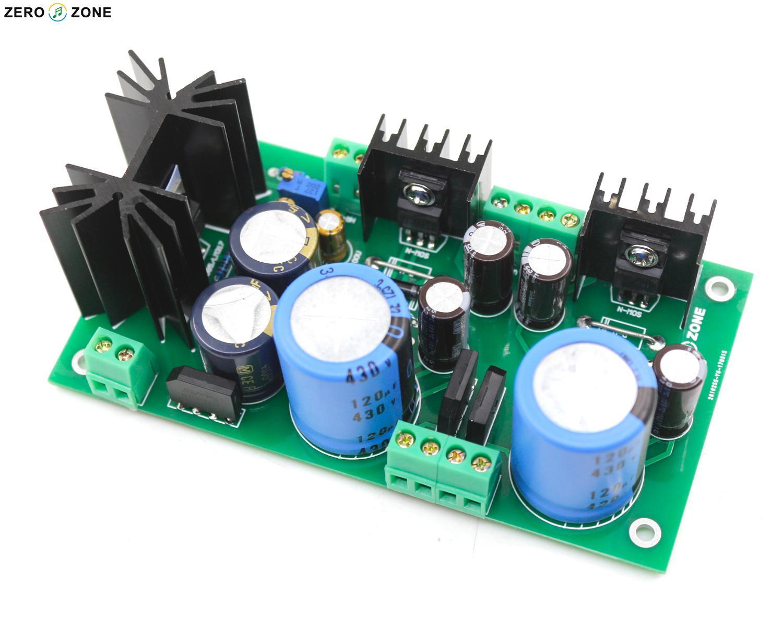 Dual High Voltage Regulator Power Supply Board DC280V+DC280V+DC12.6V  Filament PSU PCB / Kit Fr GG Tube Preamp