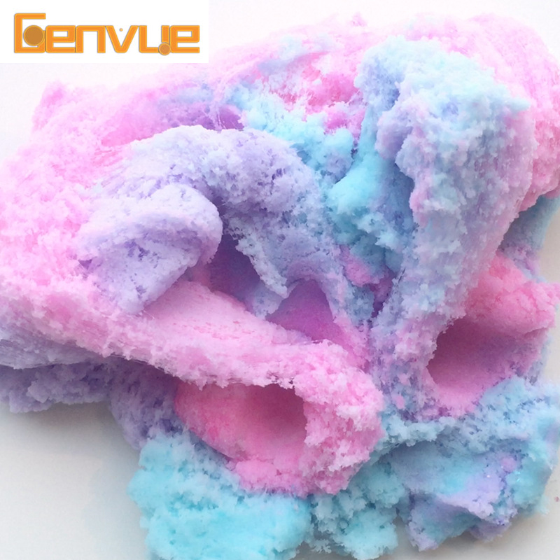Colorful Cloud Slime Supplies Putty Charms For Slime Fluffy Magic Crystal Anti Stress Kids Toys Kits Cotton Mud Clay Polymer