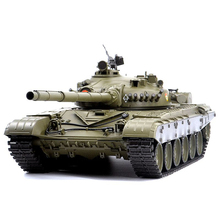 1:16 Russian T-72 Main Battle Tank 2.4G Remote Control Model Military Tank With Sound Smoke Shooting Effect - Basic Edition trumpeter 1 35 czech army t 72m4cz main battle tanks model kit
