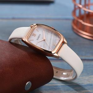 Image 4 - Squisita piccola semplice del vestito delle donne orologi in pelle retrò orologio femminile Top delle donne di marca di modo mini design orologi da polso orologio