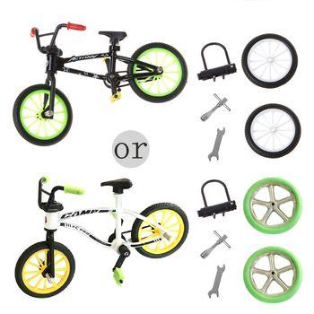 Rower górski doskonałe funkcjonalne metalowe zabawki Mini sporty ekstremalne fajny chłopak kreatywna gra zestaw zabawek kolekcje tanie i dobre opinie Z tworzywa sztucznego CN (pochodzenie) X5XE3TT300812 other 12 5*9*4 5CM Finger rowery 5-7 lat