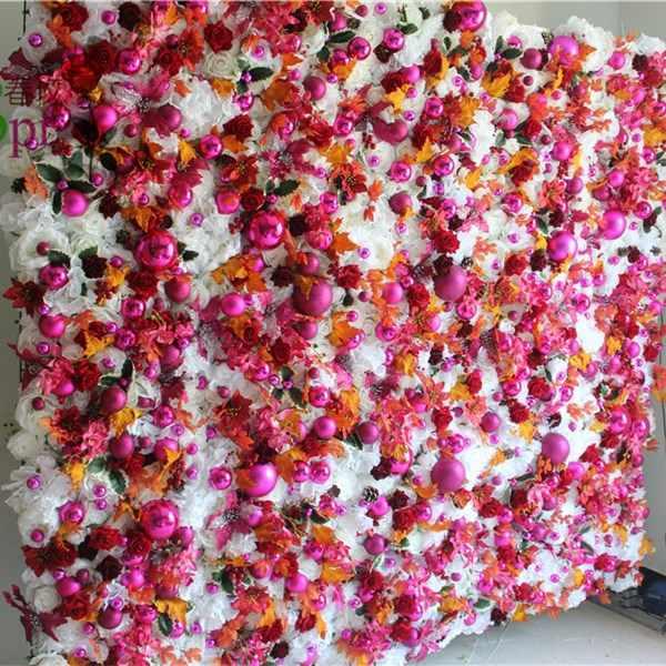 SPR украшение цветок фон стена Свадьба для свадьбы стена Искусственные и сухие