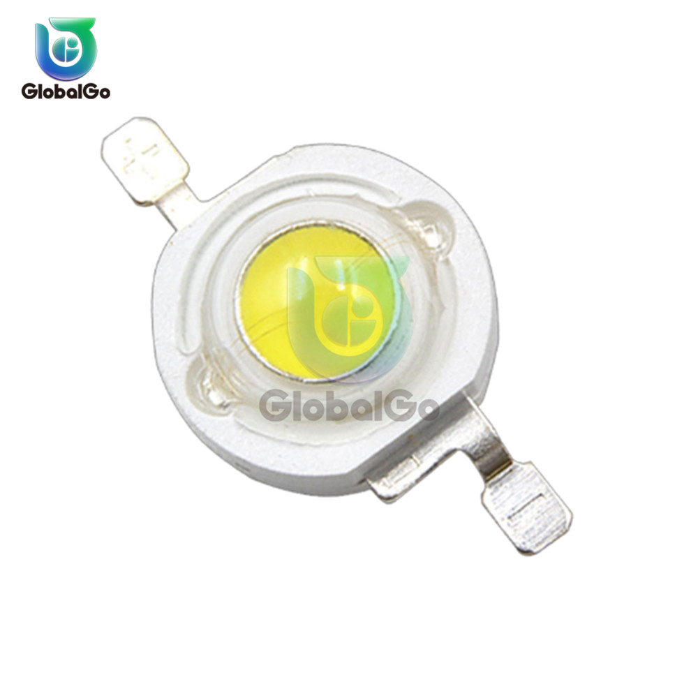 5 Pcs/Lot Round LED Chip 1W 3W Smart High Power LED Lamp Bulb Diodes SMD LED Bulb Lamp For Flood Light Spotlight Diy Lighting