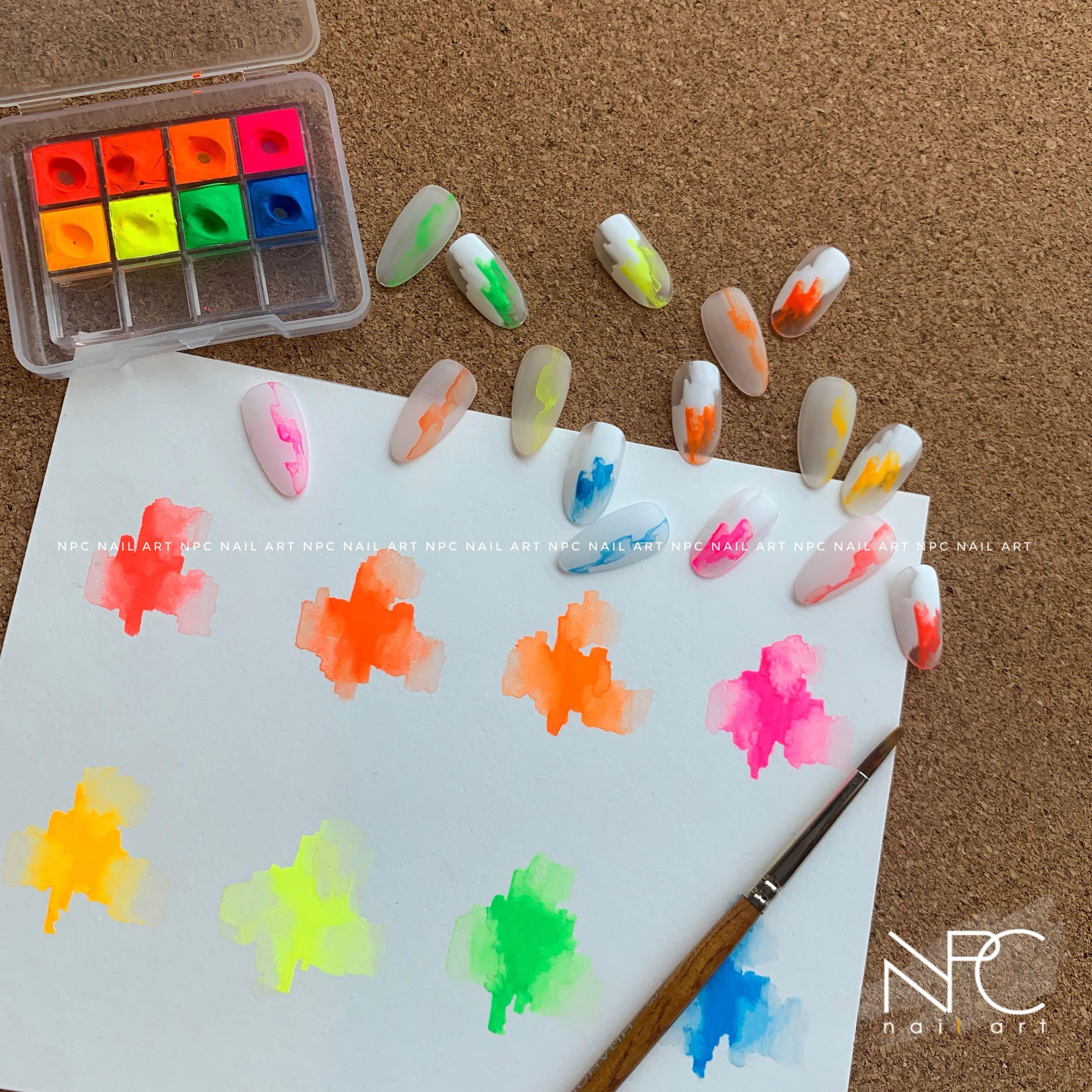 Профессиональный набор для рисования акварелью, 8 цветов