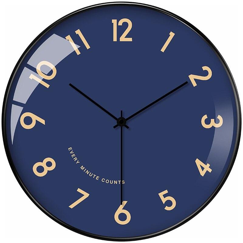 Nordic Clocks Wall Home Decor Clock Mechanism Living Room Creative Luxury Art Modern Decor Wall Watch Large Wall Clock Metal