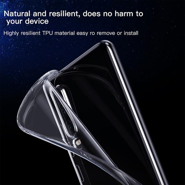 Shockproof Case For Huawei P30 P20 P40 P10 Mate 30 20 10 Lite Pro P Smart 2019 Honor 8X 9X 20 Pro Nova 5T Transparent Back Cover 5