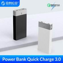 ORICO 10000mAh Power Bank 18W QC3.0 PD3.0 Fast Charging External Battery Quick Charge Powerbank For iphone Xiaomi Mobile Phone