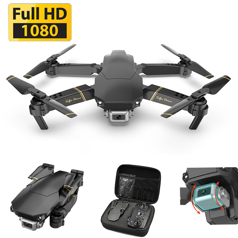 Drone 1080P HD WiFi Transmission Fpv Drone Height Keeps One-button Return Quadcopter RC Helicopter VS Gd89 Drone Camera Dron