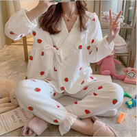 Wnter Fashion Maternity Clothes Autumn Nursing Pajamas Pregnancy Pregnant Women's Pajamas Set Maternity Homewear Set X075