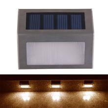 Уличная Светодиодная лампа на солнечной батарее водонепроницаемый