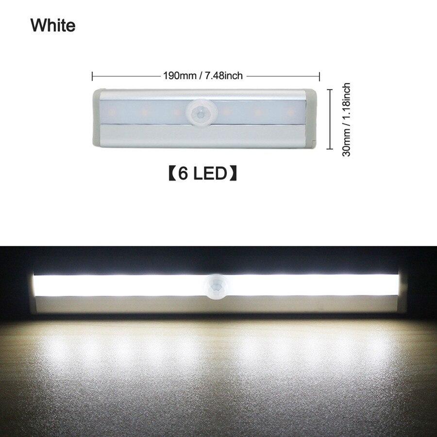 6 LED Cold White