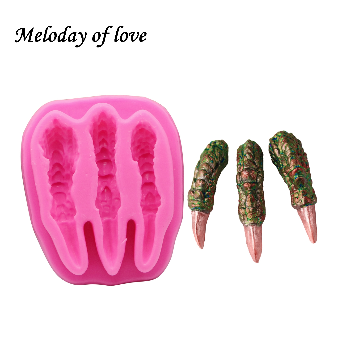 Cake Decorating Handmade Supply Silicone Mold for Binky Baby Soft Silicone Mold for Fondant Polymer Clay
