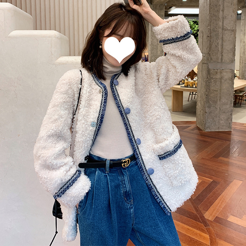 Fur Coat Female New Autumn Winter Imitation Lamb Hair Winter Short Fur One Coat Explosion Korean Fur Jacket Jaqueta Feminina