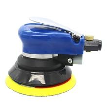 цена на 5 Inches 10000RPM Max Car Polisher Paint Care Tool Pneumatic Air Sander Electric Woodworking Grinder Polisher Polishing Machine