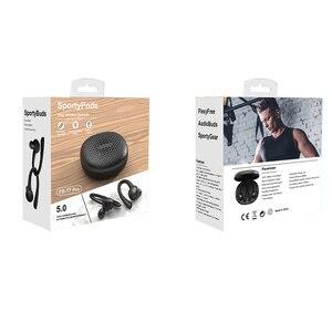 Image 5 - T7 Pro TWS 5.0 bezprzewodowy Bluetooth słuchawka hi fi Stereo słuchawki bezprzewodowe zestaw słuchawkowy dla aktywnych z etui z funkcją ładowania kolor dla dziewczyny