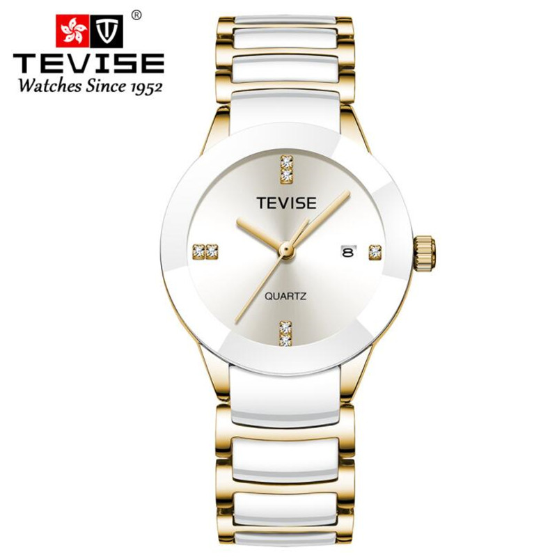Couple Watches 2019 Top High Quality Wrist Watch For Men And Women Bracelet Female Watch Calendar Reloj Hombre Lover Saat